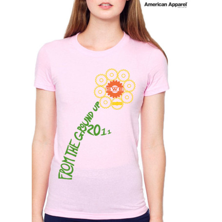 Ladies American Apparel T-Shirt
