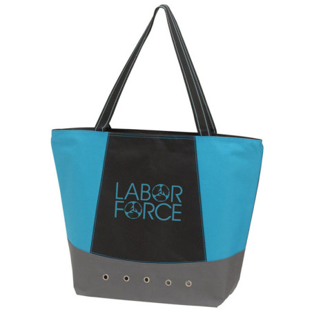 Imprinted Commuter Tote Bag