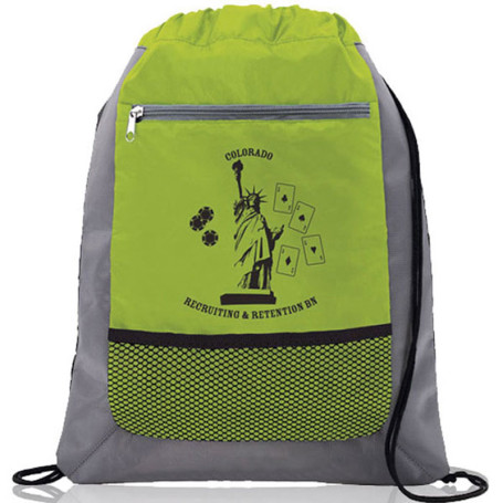 Imprinted Drawstring Bags
