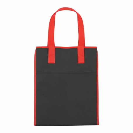 Logo Insulated Drawstring Shopper Tote