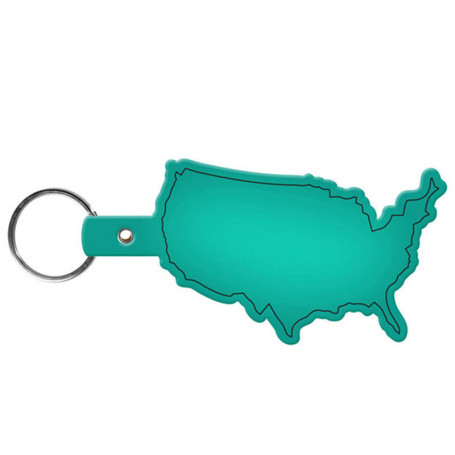 Logo United States Flexible Key-Tag