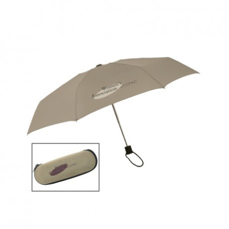 "Logo Urban 40"" Arc Executive Mini Fold Umbrella"