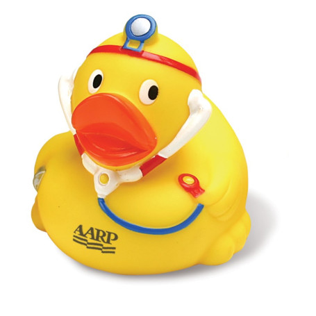 Monogrammed Doctor Rubber Duck
