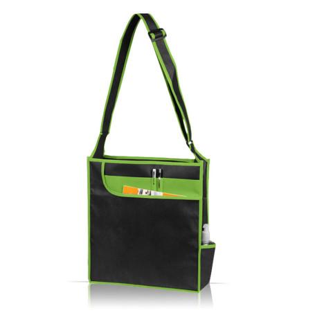 Multi-Pocket Messenger Shoulder Tote Bag