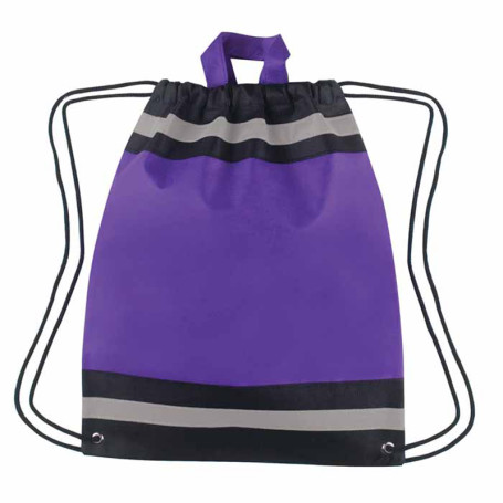 Non-Woven Reflective Drawstring Sport Pack