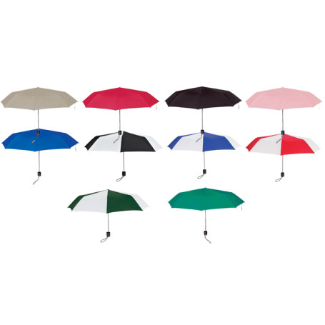"Personalized 43"" Arc Super-Mini Telescopic Folding Umbrella"