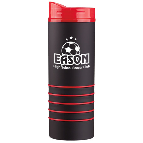 Printable 16 Oz. Rubber-Coated Tumbler