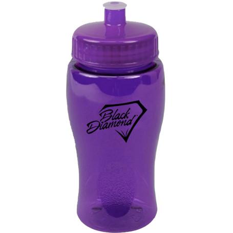 Printable 18 oz. Poly-Pure Junior Bottle Push-Pull Lid