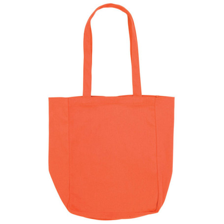 Printed Colored Canvas Tote Bag