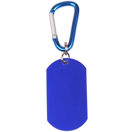 Printed Dog Tag on Carabiner
