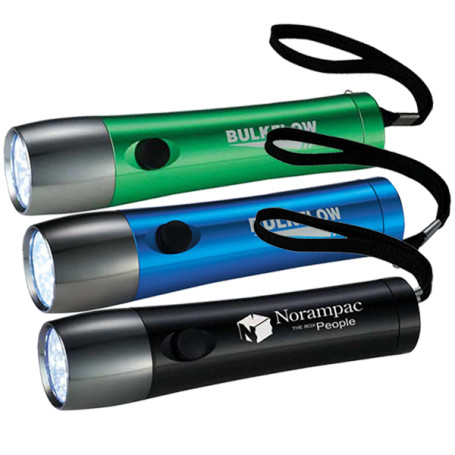Printed Garrity Color 14 LED Flashlights