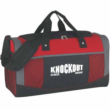 Custom Quest Duffel Bag - red