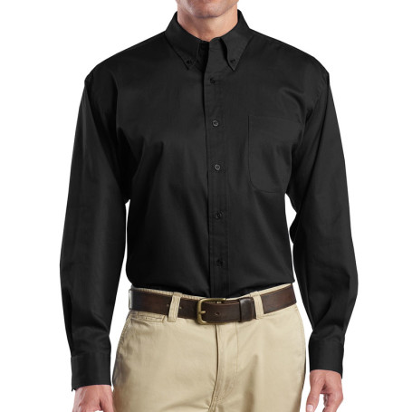 CornerStone - Long Sleeve SuperPro Twill Shirt (Apparel)