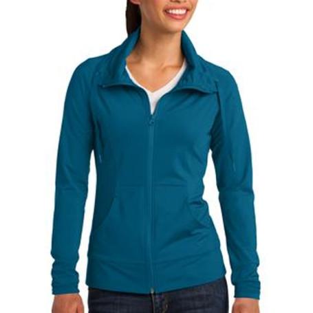 Sport-Tek Ladies Sport-Wick Stretch Full-Zip Jacket1