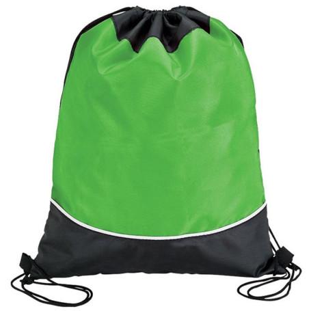 Two Tone Drawstring Bag