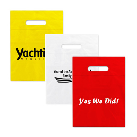 Customizable Low Density Fold Over Die Cut Bags