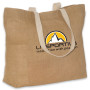Custom Printed Eco-Green Jute Tote