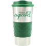 Imprinted 16oz. Grip N Go Stainless Tumbler