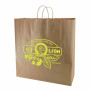 Logo Recycled Natural Kraft Bags