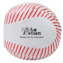 Monogrammed Baseball Kick Sack