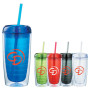 Monogrammed Twister 16-oz. Tumbler with Straw