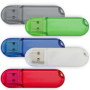 4GB Transparent USB Drive