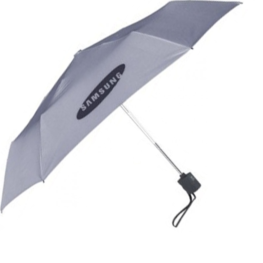 "Customizable Explorer 43"" Arc Flat Folding Mini Umbrella"