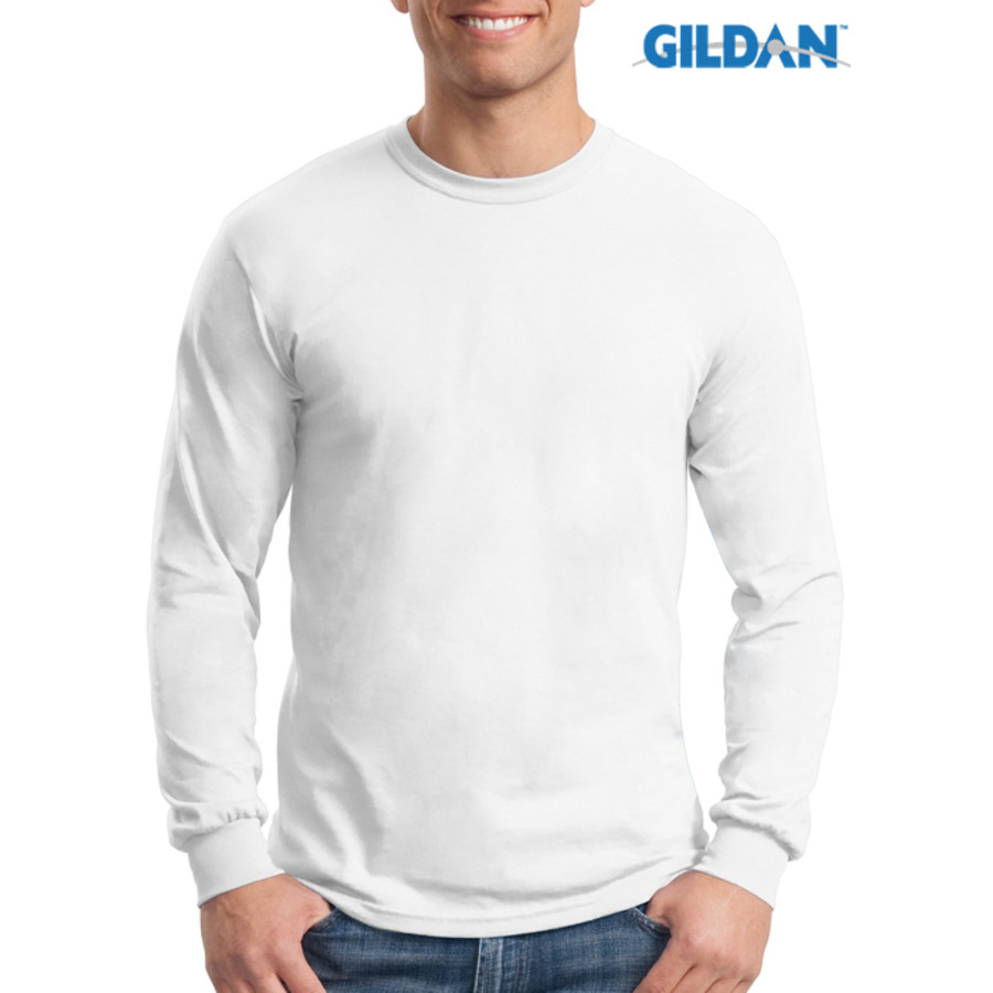 Gildan Heavy 100% Cotton Long Sleeve T-Shirt
