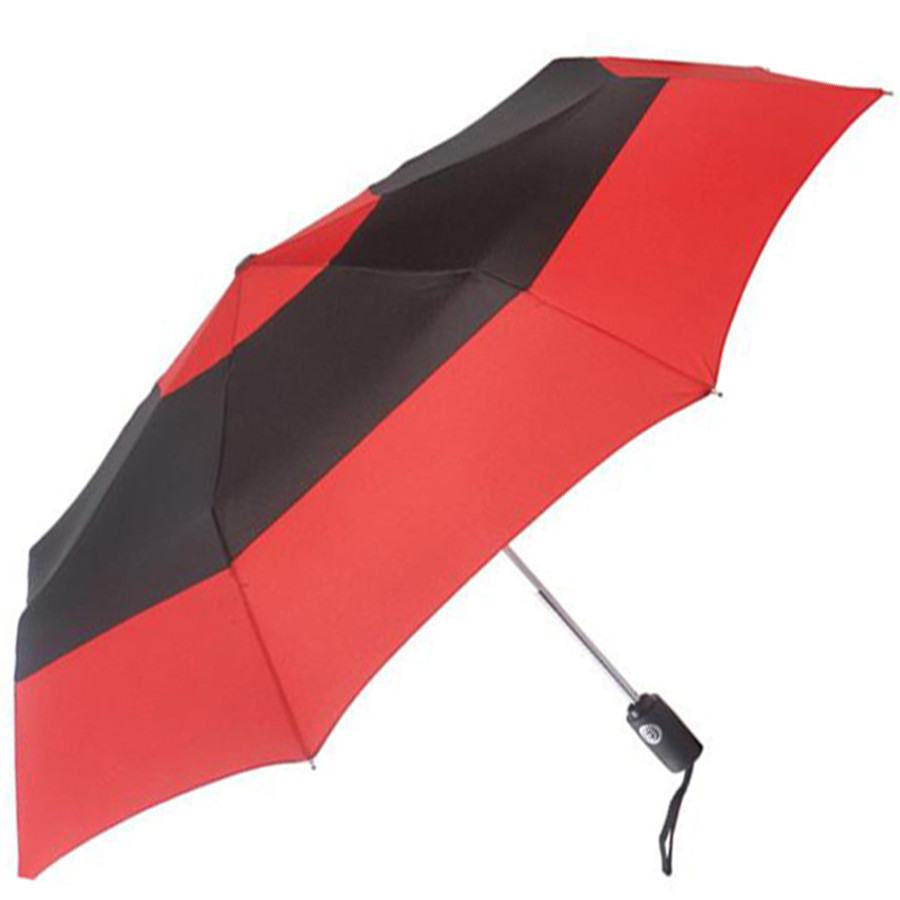 Custom Totes® Auto Open/Close Color Block Umbrella