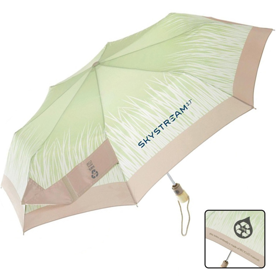 Printable Totes® Eco 'brella Auto Open/Close Umbrella