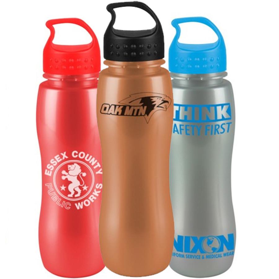 Logo Shimmerz Slim Grip Bottle with Crest Lid - Group