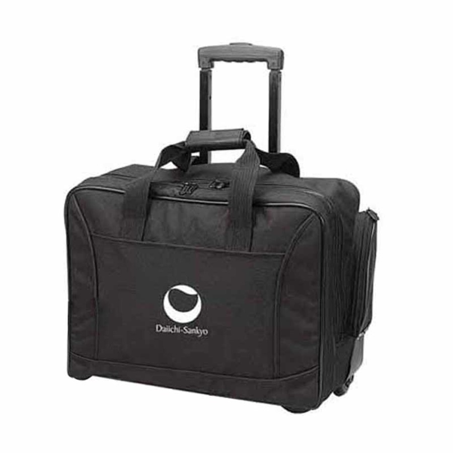 Monogrammed Scan Express Wheeled Computer Brief