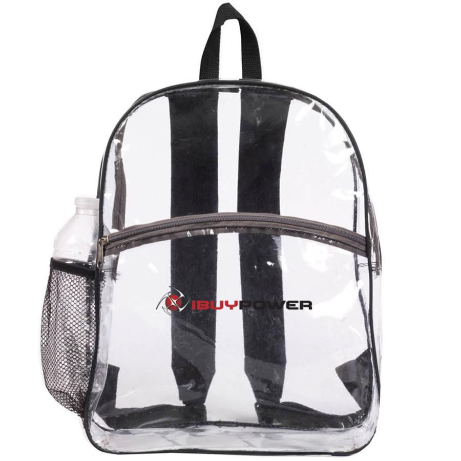 Clear Zipper Backpack