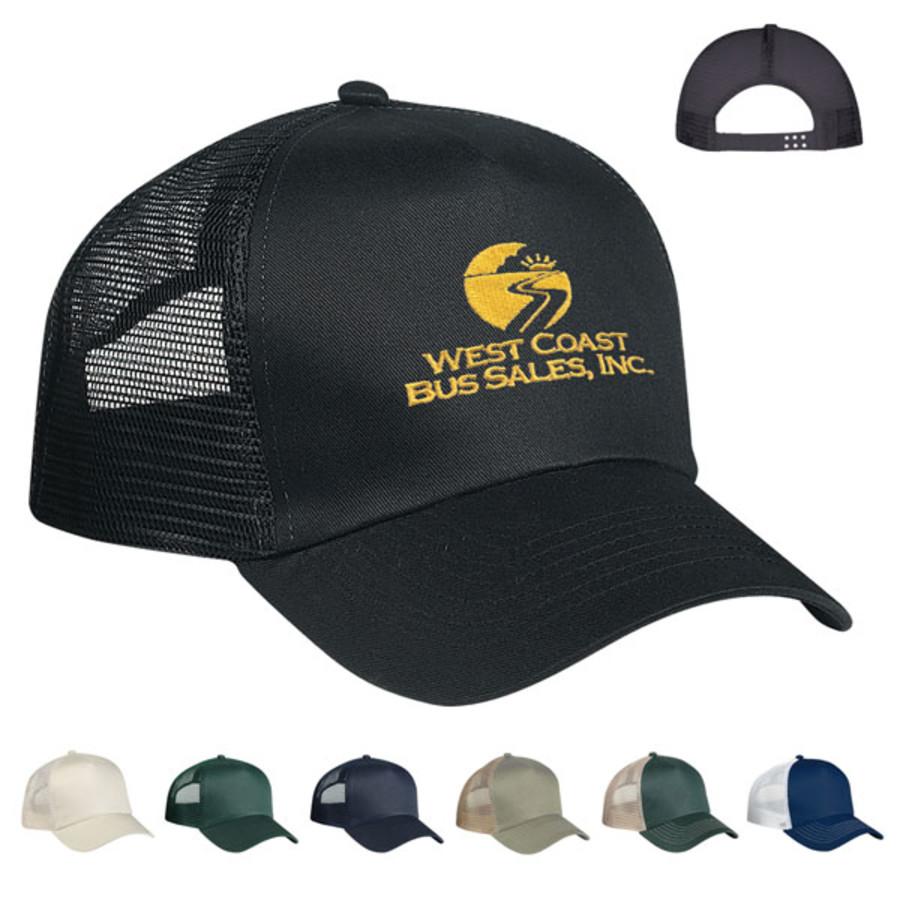 Custom 5 Panel Mesh Back Price Buster Cap