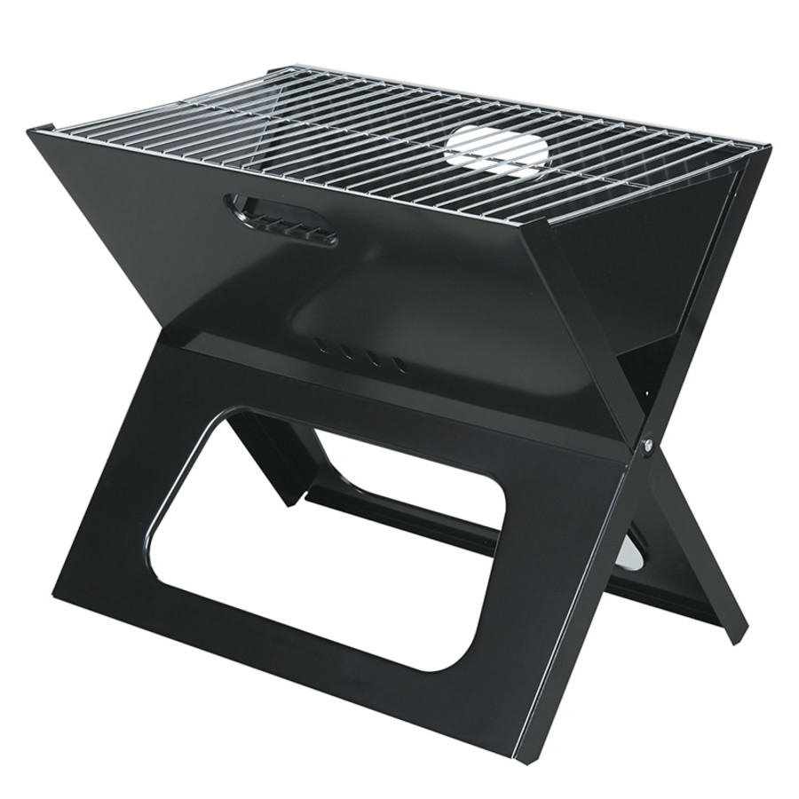 Custom Collapsible Portable Grill With Carrying Bag