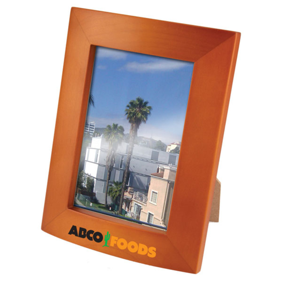 Custom-Logo-3.5-x-5-Maple-wood-Photo-Frame