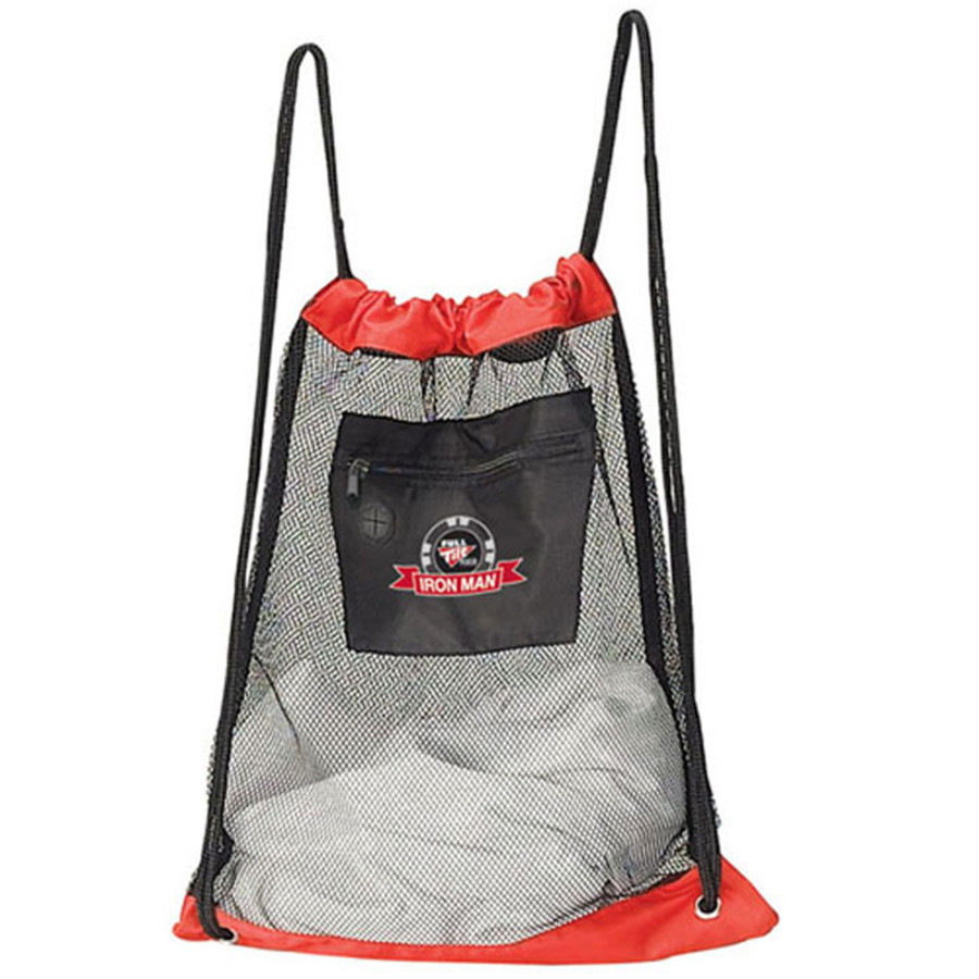 Custom Logo Mesh Drawstring Backpack