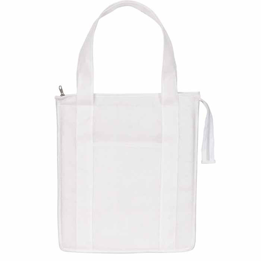 Custom Logo Non-Woven Insulated Shopper Tote Bag