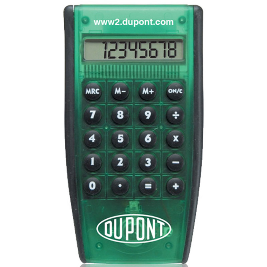 Custom Printed Slim Pocket Calculator