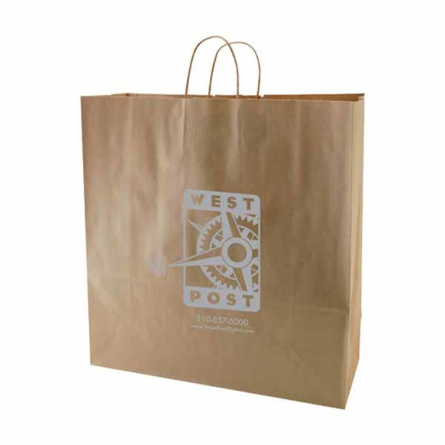Customizable-Natural-Kraft-shopping-bags