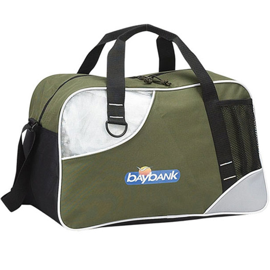 Custom Printed Double Take Duffel - Green