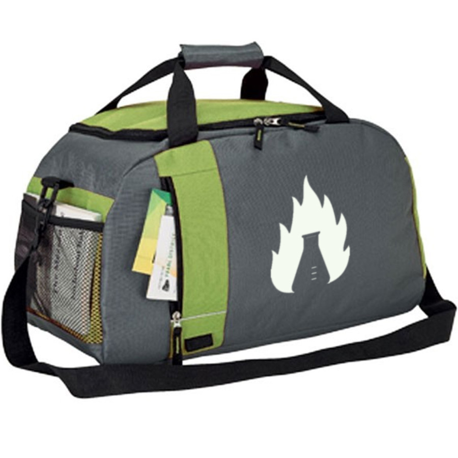 Custom Printed Duffel Bag - Green