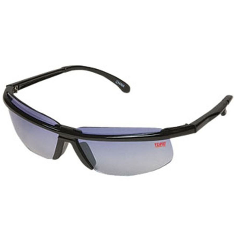 Imprint Sunglasses Wrap Style with Clear Lenses