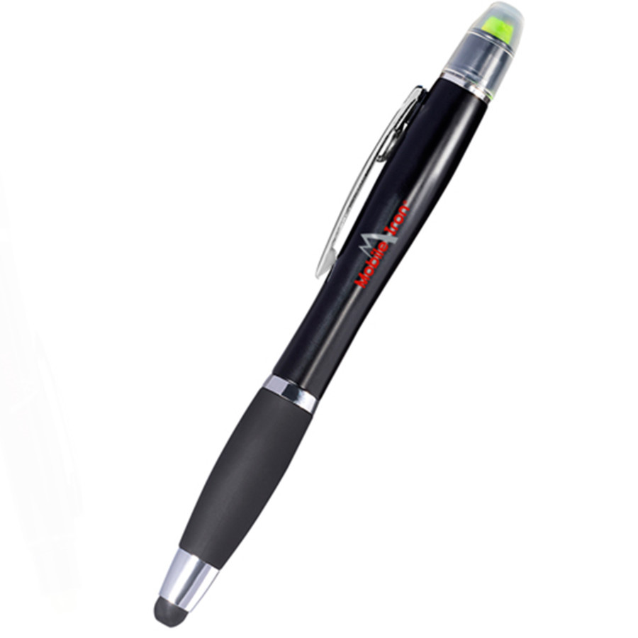 Imprinted Starlight Highlighter Stylus Pen