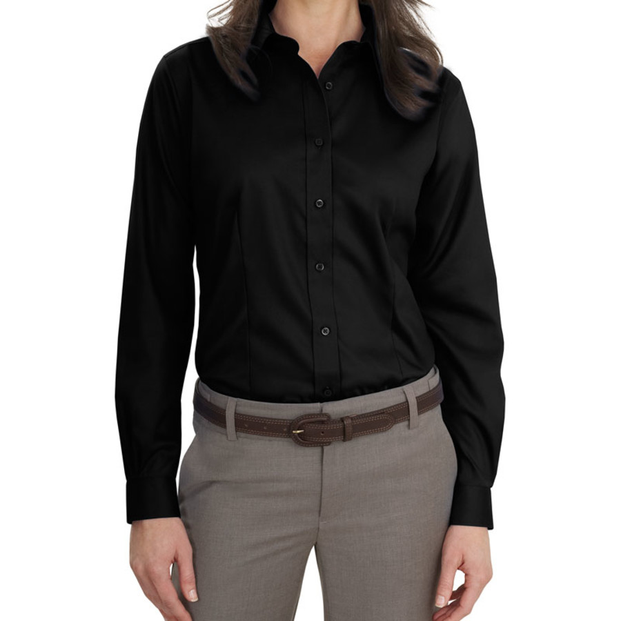 Port Authority Ladies Long Sleeve Non-Iron Twill Shirt (Apparel)