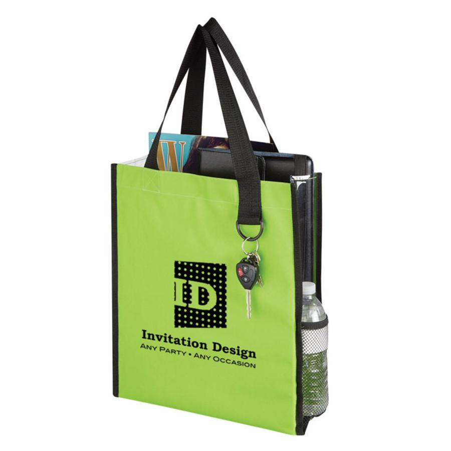 Monogrammed Sneak Peek Tote Bag