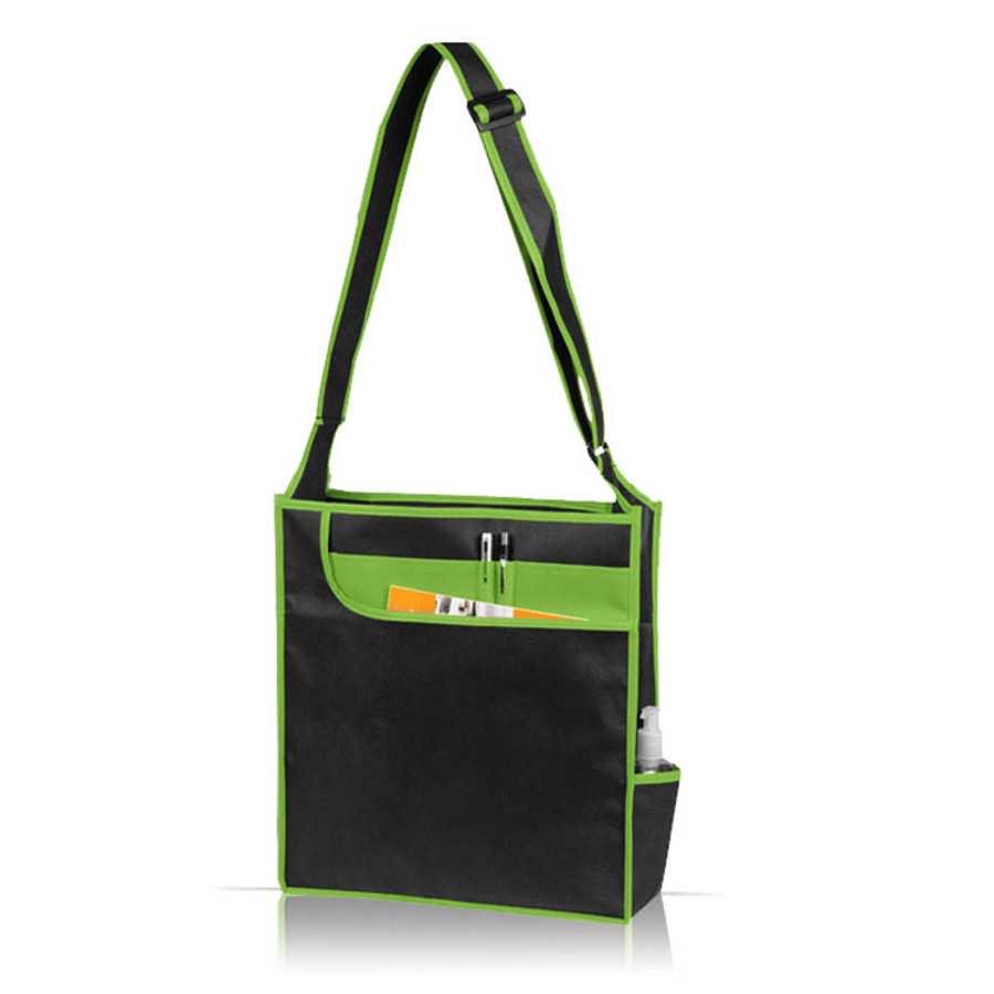 Multi-Pocket Messenger Shoulder Tote Bag
