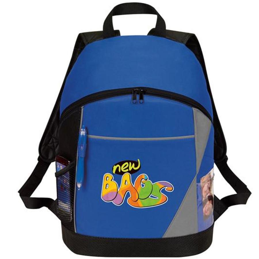 """Printed """"eGREEN"""" Backpack"""