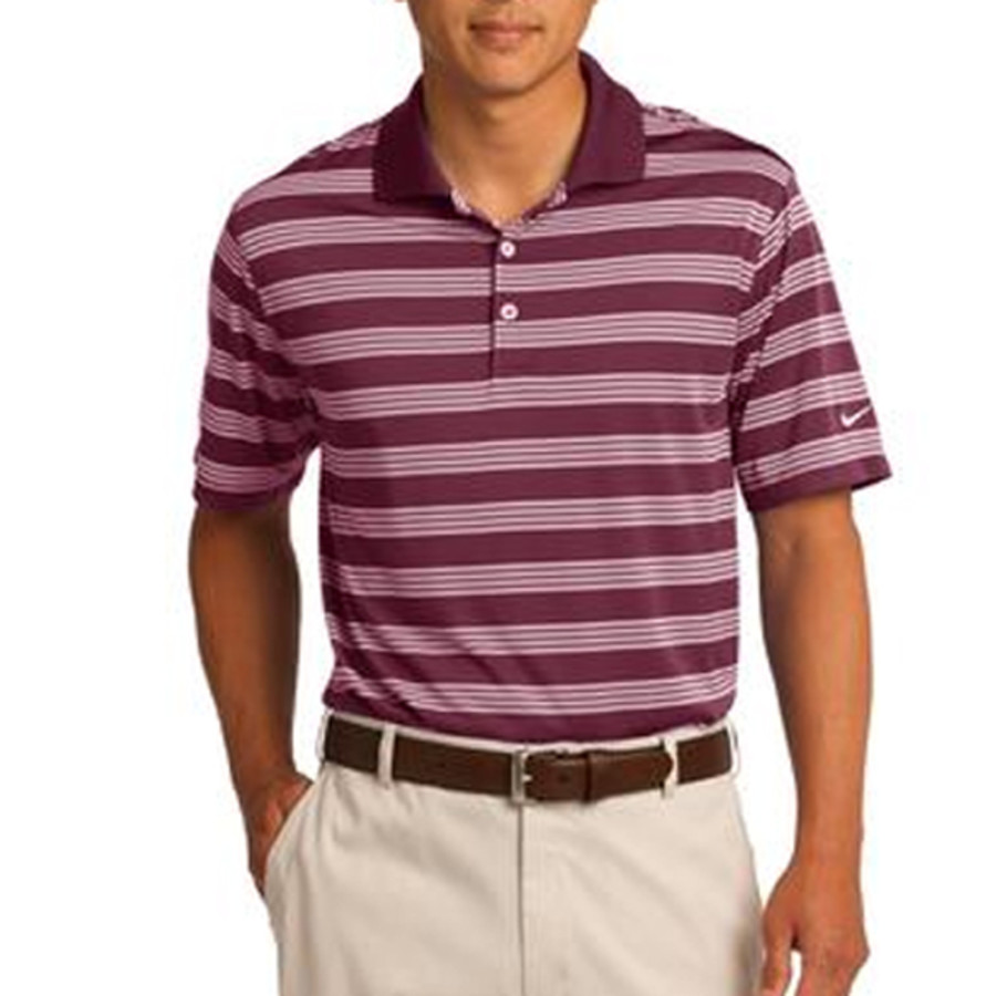 Nike Golf Printed Dri-FIT Tech Stripe Polo
