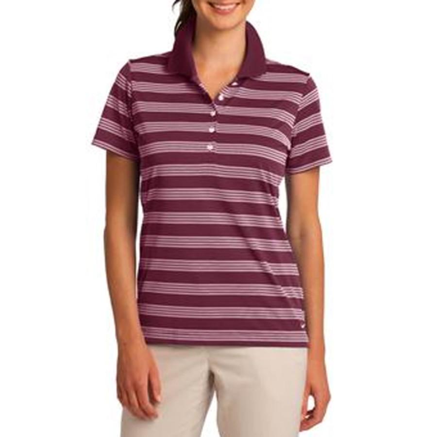 Nike Golf Ladies Dri-FIT Tech Stripe Polo
